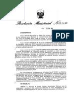 Normas Tecnicas Para El Inicio de Clases Del 2014
