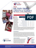 2014 Military Family Lifestyle Survey Snapshot