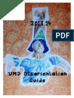 2013-14 UMD Disorientation Guide