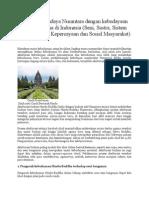 Akulturasi Budaya Nusantara Dengan Kebudayaan Hindu Buddha Di Indonesia ELSY