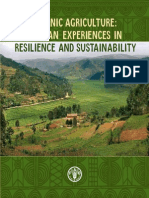 FAO. Organic Agriculture African Experiences in Resilience and Sustainabilit.