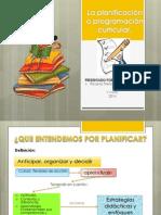La Planificación o Programación Curricular