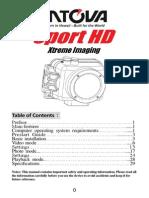 Intova Sport HD - English