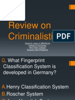 Criminology Reviewer
