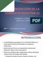 laprediccindelaconductadelictivai-091020093740-phpapp01