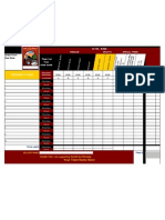 Sample Fundraing Coffee Order FORM 09