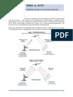 TDMA vs SCPC Technical Note - Rev D