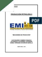 Mecanismos de Producción - Producción Petrolera II