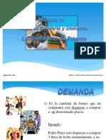 MODULO IV (Formacion de Precios - Teoria de La Oferta y Demanda)