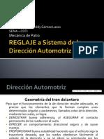 Sistema Dirección Automotriz REGLAJE