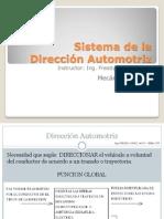 Sistema Dirección Automotriz