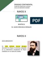 CLASE N° 4 - RAYOS X