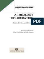 A Theology of Liberation - Gutierrez