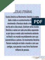 Escolas Literárias ENEM