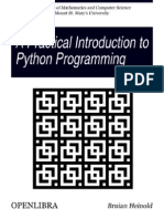 A Practical Introduction to Python Programming-OpenLibra-350x459
