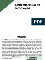 Logistica Internacional Na Mcdonalds