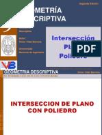 Capitulo 09 Intersección Plano Poliedro