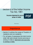 40_section 9 of the Indian Income Tax Act