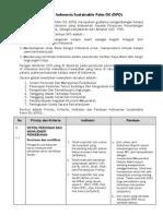 Prinsip Dan Kriteria Indonesia Sustainable Palm Oil