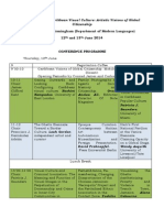Conference Programme Def