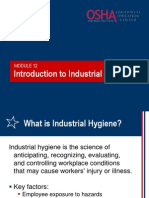 12 Intro Industrial Hygiene