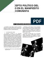 Concepto Politico Del Derecho en El Manifiesto Comunista