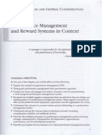 Chapter 1 -Performance Mgmt & Reward Systems in Context