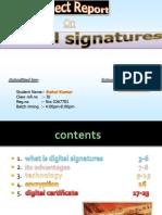 Digitalsignatures Project