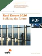 Pwc Real Estate 2020 Building the Future