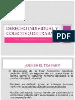 Derecho Individual y Colectivo de Trabajo (2)