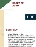Servidores de Aplicación