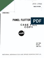 SP 8004 - Panel Flutter