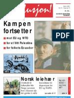 Revolusjon nr. 21 – våren 2001
