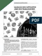 Internacionalização Dos Capitalistas - Jb