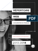 SUPER Repertoire Web Amelioration Francais 2013