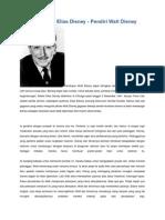 Biografi Walter Elias Disney