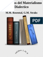 Categorias Del Materialismo Dia - M.M. Rosental, G.M. Straks