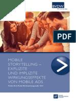 Rich Media erzeugt eine signifikante Wirkungssteigerungen bei Mobile-Display-Werbung