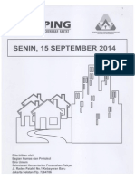 Kliping Berita Perumahan Rakyat, 15 September 2014
