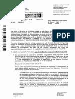 Contestacion de La DGS a La Fusion Recibido El 8 de Agosto de 2014