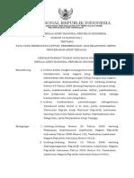 Perka Tata Cara Pembuatan Daftar, Pemberkasan Dan Pelaporan Serta Penyerahan Arsip Terjaga