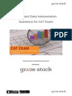 Important Data Interpretation Questions for CAT Exam