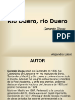 Rio Duero Gerardo Diego