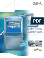 Courtoy Rotary Tablet Presses