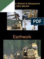 Earthwork Notes