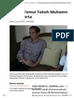 Jokowi Temui Tokoh Muhammadiyah Di Yogyakarta - Kompas_1