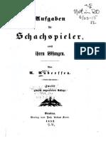 Anderssen - Aufgaben Fuer Schachspieler Nebst Ihren Loesungen (1852, German)