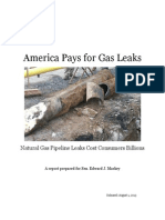 America Pays for Gas Leaks