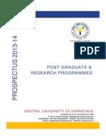 Revised Prospectus PG -2013-14