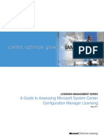 Assessing System Center Configuration Manager Licensing